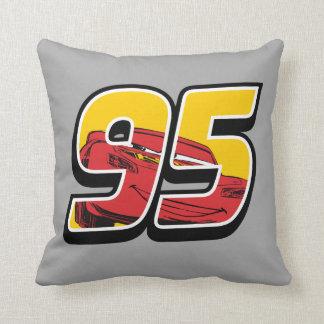 Cars 3 | Lightning McQueen Go 95 Throw Pillow