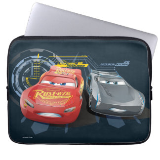 Cars 3 | Lightning McQueen & Jackson Storm Laptop Sleeve