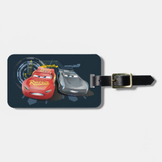 Cars 3 | Lightning McQueen & Jackson Storm Luggage Tag