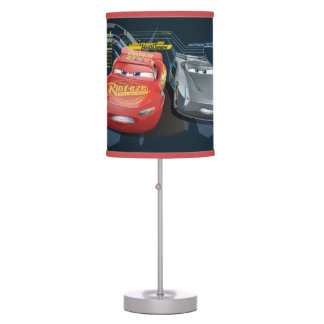Cars 3 | Lightning McQueen & Jackson Storm Table Lamps
