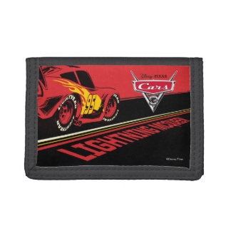 Cars 3 | Lightning McQueen - Let's Race Trifold Wallets