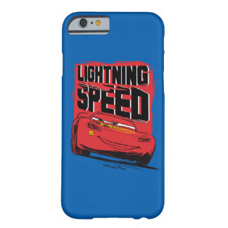 Cars 3   Lightning McQueen - Lightning Speed Barely There iPhone 6 Case