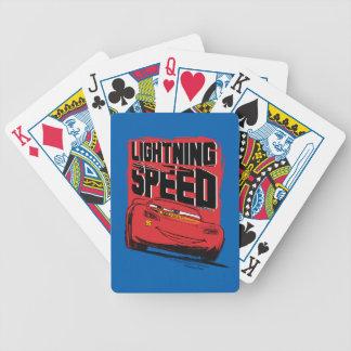 Cars 3 | Lightning McQueen - Lightning Speed Poker Deck