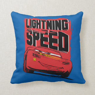Cars 3 | Lightning McQueen - Lightning Speed Throw Pillow