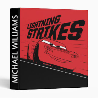 Cars 3 | Lightning McQueen - Lightning Strikes Binder