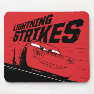 Cars 3 | Lightning McQueen - Lightning Strikes Mouse Pad