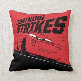 Cars 3 | Lightning McQueen - Lightning Strikes Throw Pillow