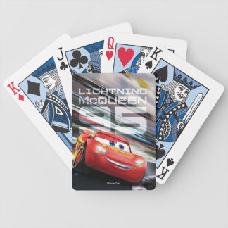 Cars 3 | Lightning McQueen - Pack Leader Bicycle Playing Cards