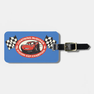 Cars 3 | Lightning McQueen - Piston Cup Chamion Luggage Tag