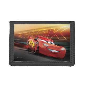 Cars 3 | Lightning McQueen - See You on the Track Trifold Wallets