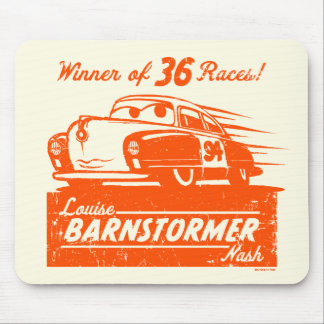 Cars 3 | Louise Barnstormer Nash - 36 Races Mouse Pad