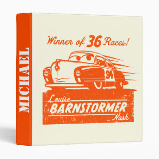 Cars 3 | Louise Barnstormer Nash - 36 Races Vinyl Binders