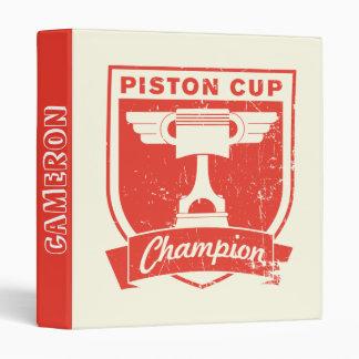 Cars 3 | Piston Cup Champion Binder