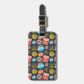 Cars 3 | Piston Cup Champion Pattern Luggage Tag