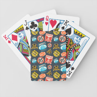 Cars 3 | Piston Cup Champion Pattern Poker Deck