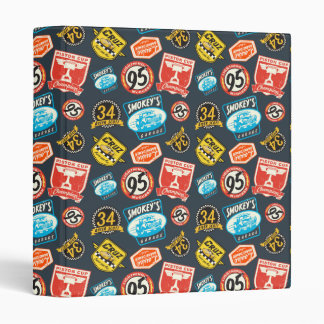 Cars 3 | Piston Cup Champion Pattern Vinyl Binder