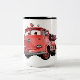 Cars 3 | Red Two-Tone Coffee Mug