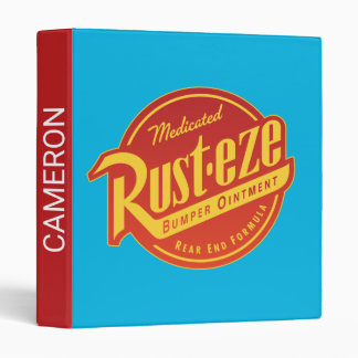 Cars 3 | Rust-eze Logo 3 Ring Binder