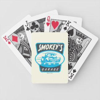 Cars 3   Smokey's Garage Bicycle Playing Cards