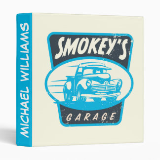 Cars 3 | Smokey's Garage Vinyl Binder