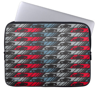 Cars 3 | Speeding Ahead Pattern Laptop Sleeve