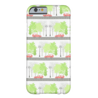 Cars and trees barely there iPhone 6 case