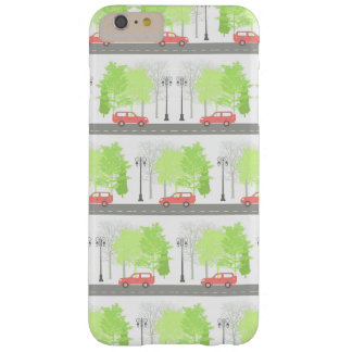 Cars and trees barely there iPhone 6 plus case