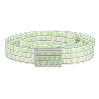 Cars and trees belt