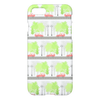 Cars and trees iPhone 7 case