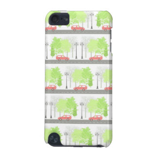 Cars and trees iPod touch (5th generation) cases