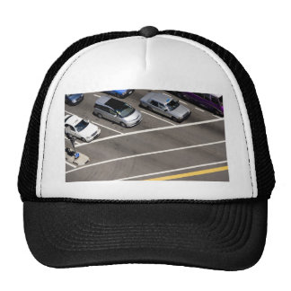 Cars at traffic junction hats