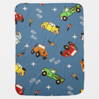 Cars baby blanket