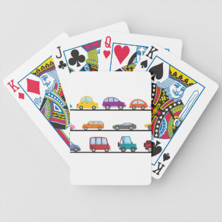 cars bicycle playing cards