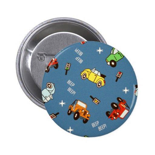 cars pinback button