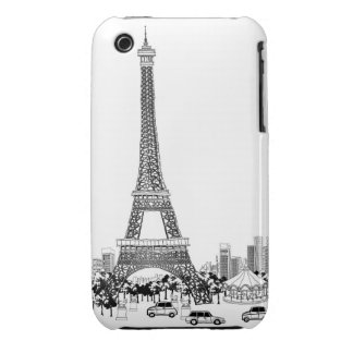 Cars by Tower Case-Mate iPhone 3 Case