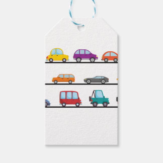 cars gift tags