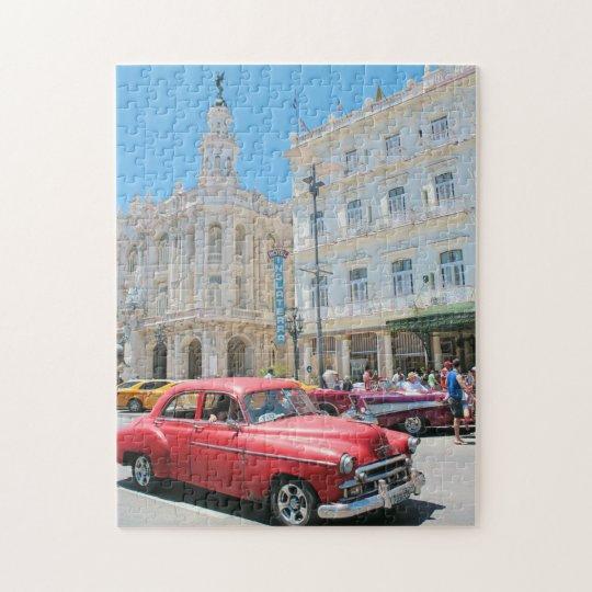 Cars in Cuba Jigsaw Puzzle