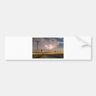 Cars_Lightning_Lines Bumper Sticker