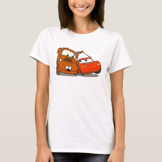 Cars Lightning McQueen and Mater Disney T-Shirt