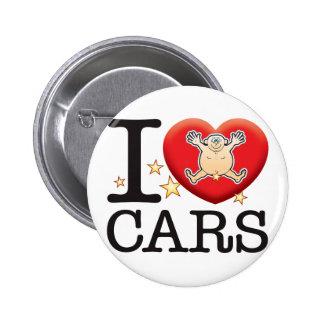 Cars Love Man 2 Inch Round Button