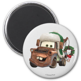 Cars | Mater In Winter Gear Magnet