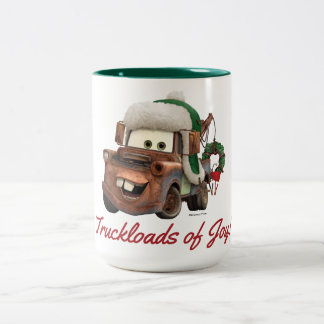Cars | Mater In Winter Gear Two-Tone Coffee Mug