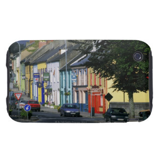 Cars parked in front of a building, Adare iPhone 3 Tough Covers