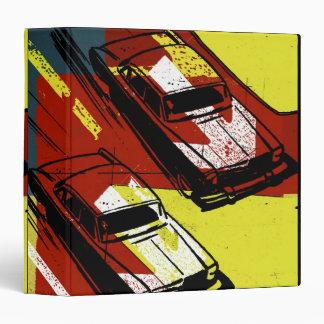 Cars Racing Vinyl Binder