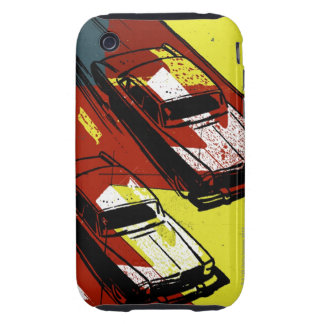 Cars Racing Tough iPhone 3 Covers