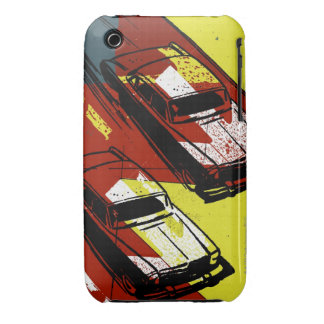 Cars Racing Case-Mate iPhone 3 Cases