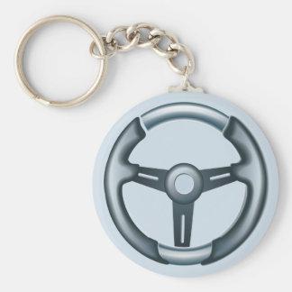 Cars Steering Wheel Key Chain
