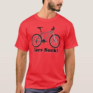 Cars Suck! (MTB) T-Shirt