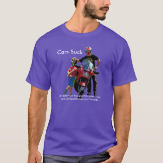 Cars Suck T-Shirt