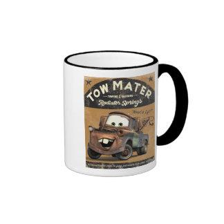 Cars Tow Mater Disney Mugs